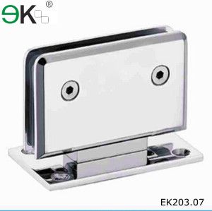 rotating mirror stainless steel door glass shower hinge