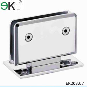 rotating mirror stainless steel door glass shower hinge