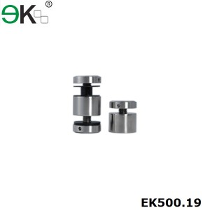 two ends tighten stainless steel standoff pin fixing