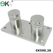 customized stainless steel 316 standoff bracket with base plate