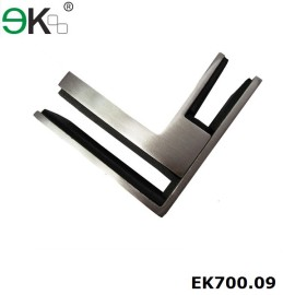 glass to glass 90 degree corner clamp