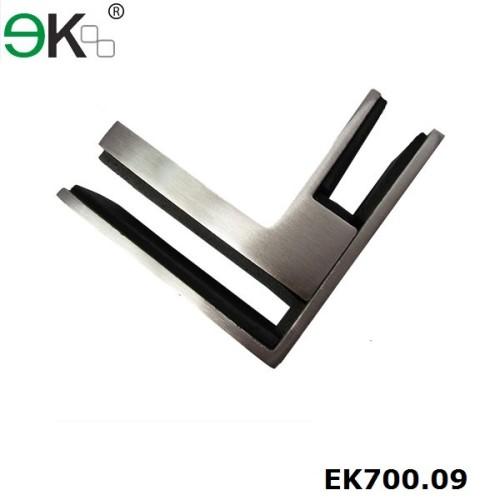 glass to glass 90 degree corner clamp