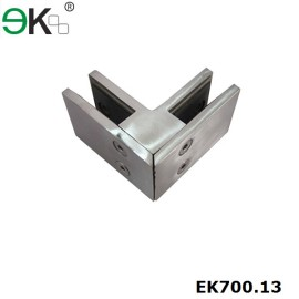 glass to glass 90 degree square corner clamp
