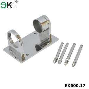 Stainless Steel Post Wall Mount Bracket