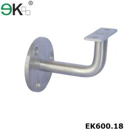 fixed flat support wall handrail bracket