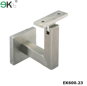 Stainless Steel Wall Square Handrail Bracket