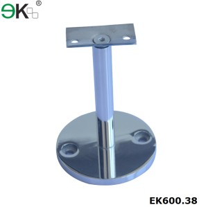 stainless steel handrail railing wall support