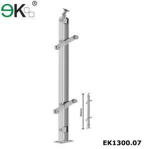 Stainless steel stainless balustrade fittings for handrail railings