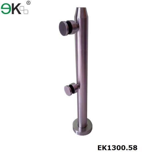 stainless steel glass railing post