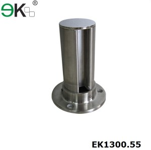 Stainless Steel Slotted End Post