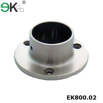 Stainless steel handrail fitting post base plate