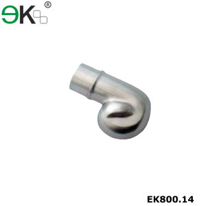 Stainless steel 45 degree railing handrail steel pipe bevel end caps