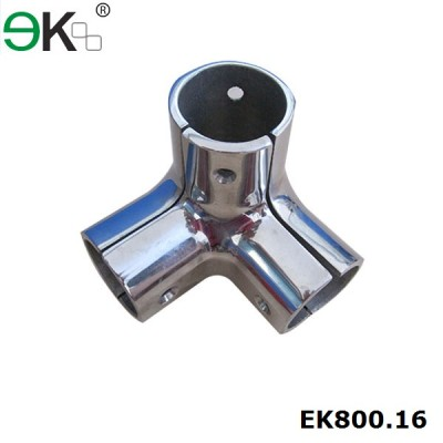 316 three way handrail flush joiner
