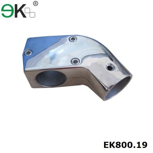 inox corner handrail pipe connector