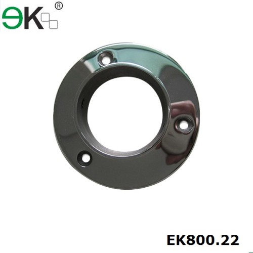 balcony round steel base plates for post