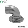 Stainless steel round pipe elbow flange base plate