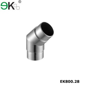 135 degree elbow pipe connector
