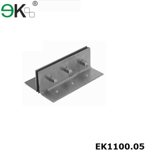 stainless steel glass fin splice plate for glass curtain wall