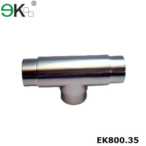316 equal tee flush tube connector