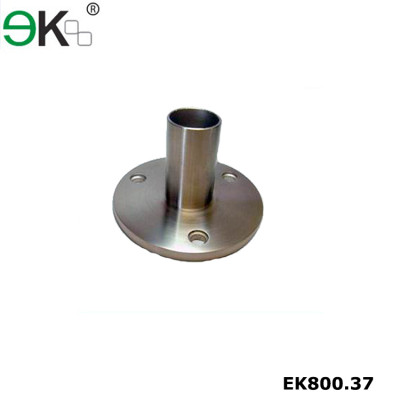 Heavy duty stainless steel flat face long neck flange