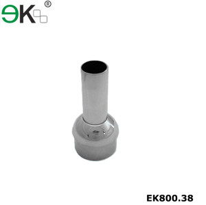 Stainless steel handrail dome post reducer