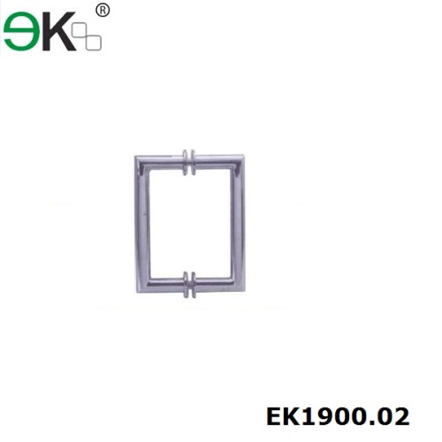AISI 304 stainless steel glass door pull handle