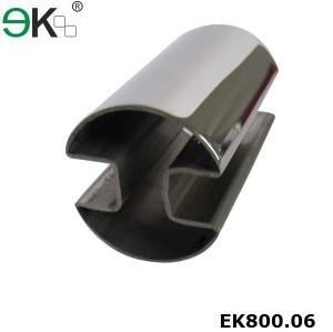 Stainless Steel 180 degreeDouble Slots Tube