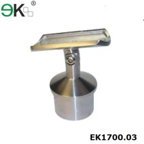 Stainless steel movable straight saddle stem bracket