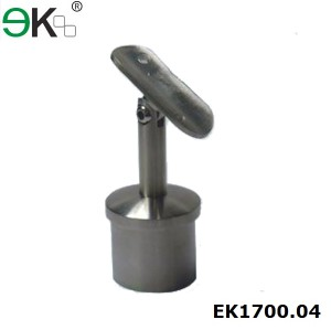 stainless steel adjustable handrail saddle support