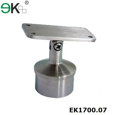 Adjustable Round Post Flat Handrail Saddle  Bracket