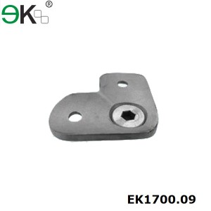 stainless steel handrail fitting support 90 degree pipe saddle handrail bracket