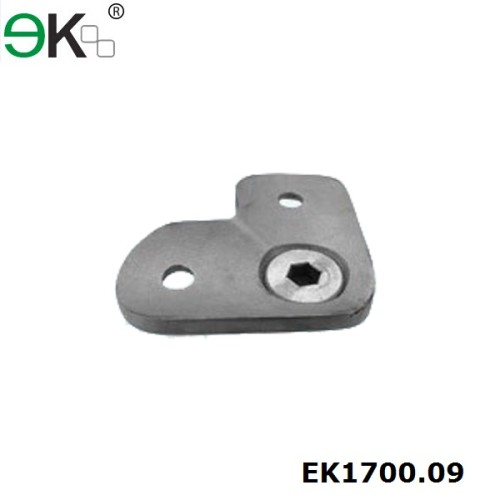 stainless steel handrail fitting support 90 degree pipe saddle handrail bracket