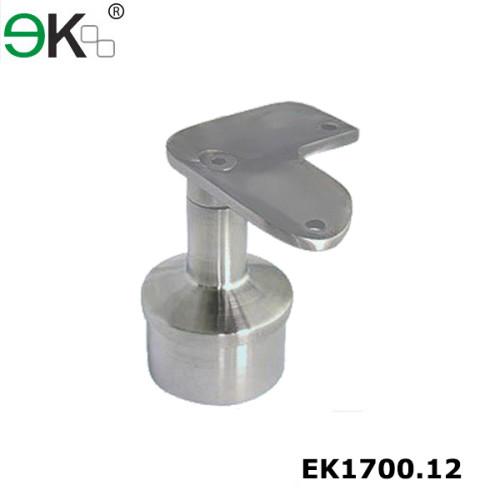 Stainless steel angle stair 90 degree round tube handrail bracket