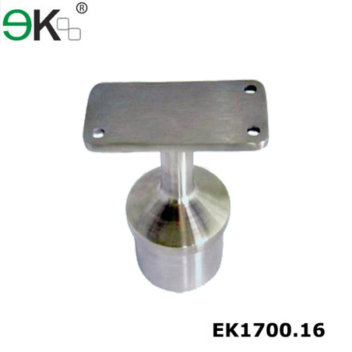 Stainless steel fixed pipe handrail support saddle bracket