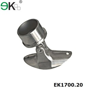 Stainless steel handrail fitting tube support
