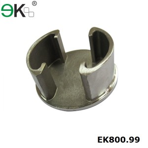 Stainless Steel 180 Degree Double Slots Tube Cap