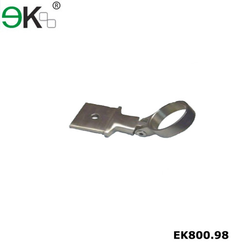 Stainless steel handrail fitting adjustable bar mount bracket
