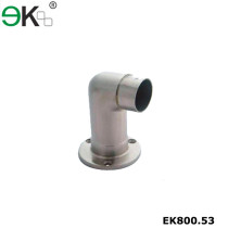glass handrail articulated elbow base plate