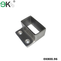 Stainless steel pipe fitting rectangular tube connector