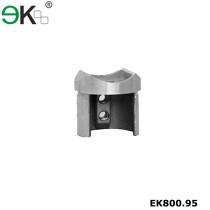 Stainless steel slot tube end cap railing tube saddle