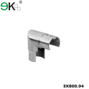 rail fitting 90 degree vertical elbow slot tube connector