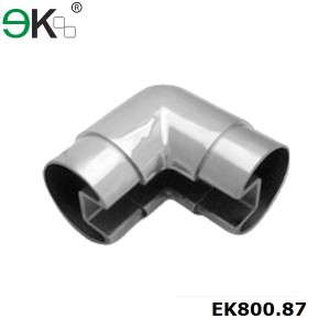 Stainless steel slot pipe handrail angle connector