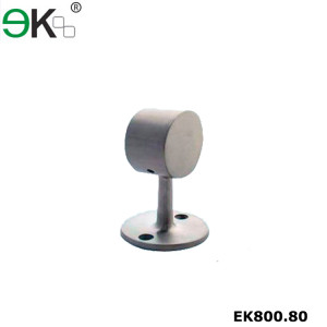Stainless steel flat handrail railing end fitting