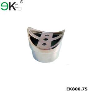 Stainless steel round tube perpendicular joiner flush fitting