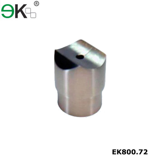 stainless steel perpendicular collar flush fitting tube connector