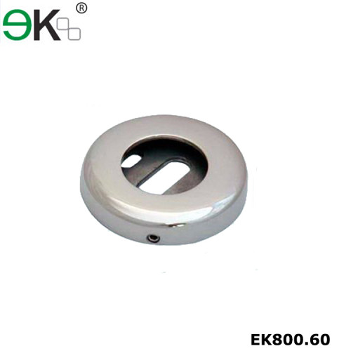 Stainless steel wall mounted pipe round tube wall floor flange