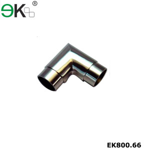 Stainless steel flush elbow fitting 90 degree tube connector