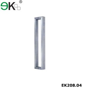 Frameless glass door hardware stainless steel handles
