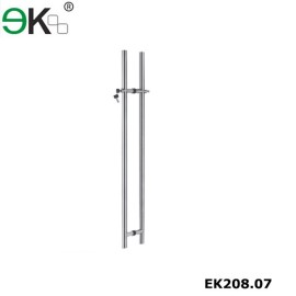 Stainless steel market glass door hardware handle