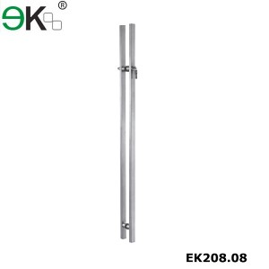 Stainless steel shopping mall building pull glass door handle